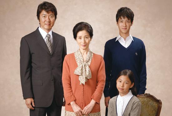 葉山奨之の家族写真